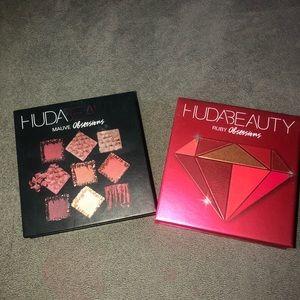 Huda eyeshadow palettes